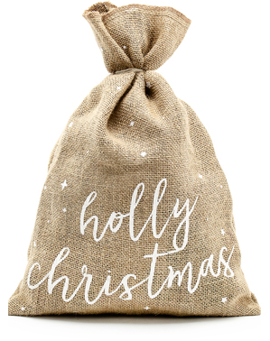 Holly Christmas Deko Weihnachtssack