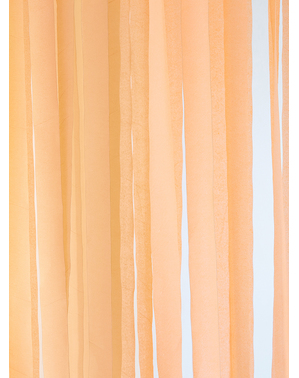 4 rolls of crepe paper tapes in orange (10m)