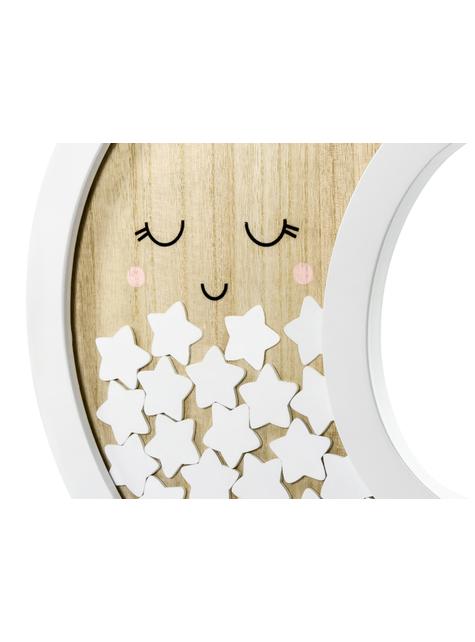 Boek van maanvormige handtekeningen met sterren - Baby Shower Party - voor themafeestjes