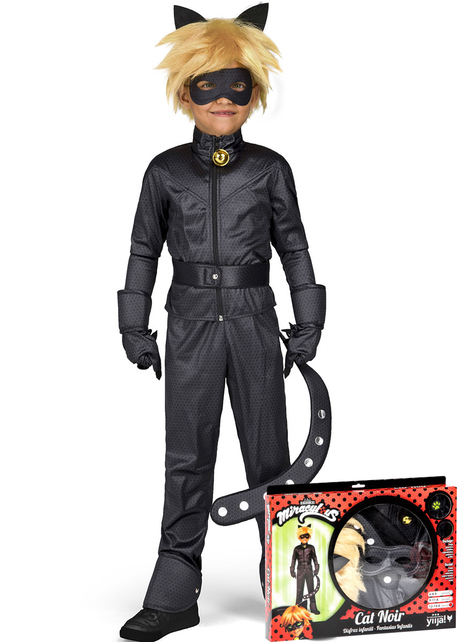 Fato Cat Noir infantil
