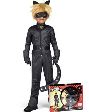 Costum Cat Noir Miraculous Ladybug pentru copii