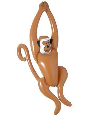קוף נתלה מתנפח