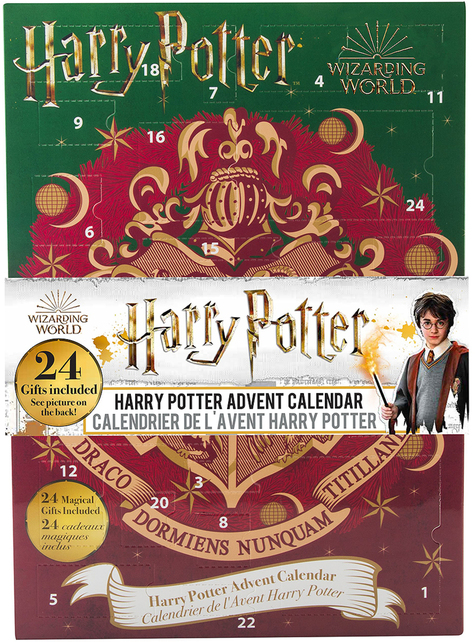 Calendrier de l'Avent Harry Potter 2019