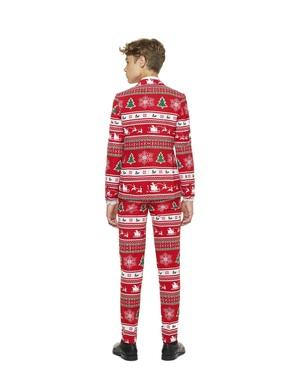 Costum adolescenți Crăciun roșu