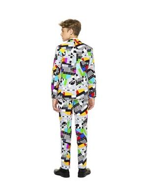 Originálni oblek pro teenagery testival Opposuit
