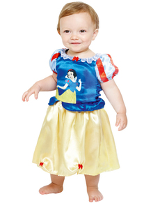 Costum Albă ca Zăpada deluxe pentru bebeluși
