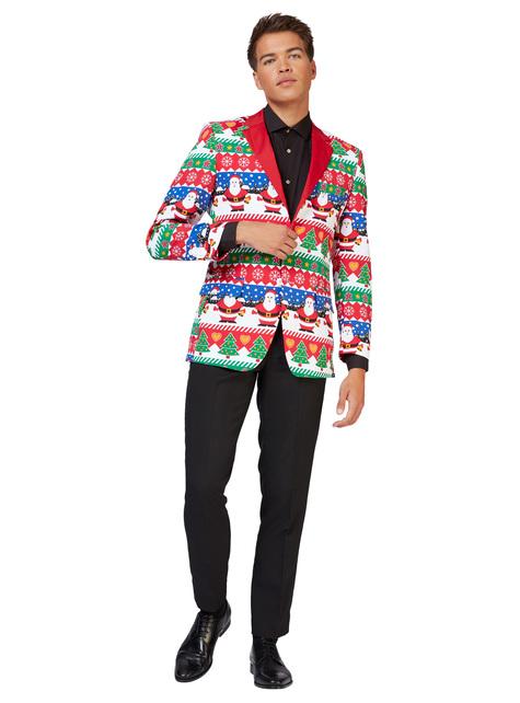 Chaqueta de Snazzy Santa Opposuits para hombre