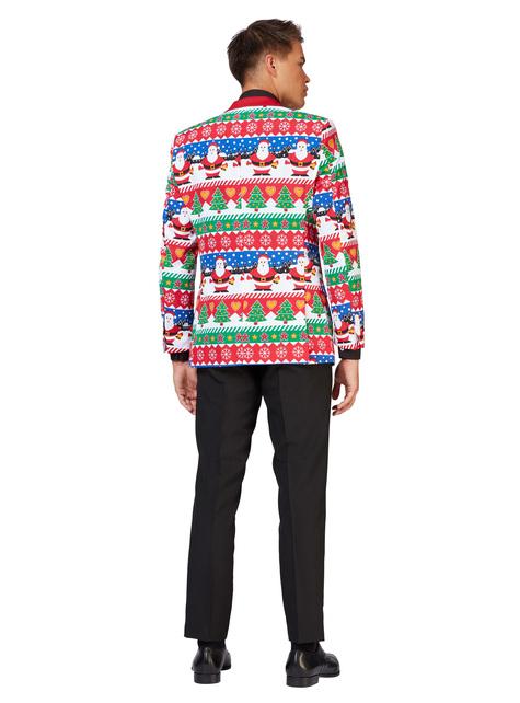 Snazzy Santa Opposuit jas voor mannen - heren