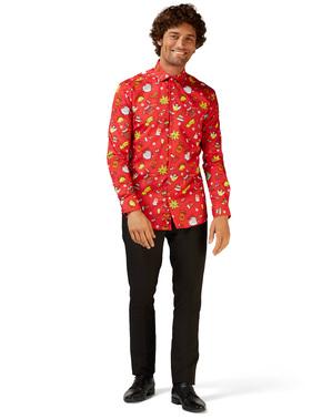 Camisa Navideña roja