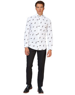 Chemise Blanche pingouins - Opposuits