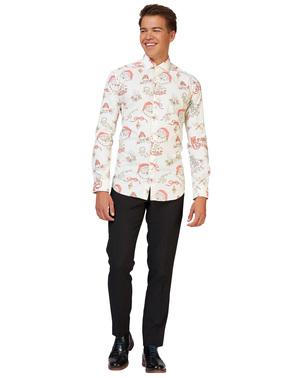 Jule Hohoholly Opposuits skjorte til mænd