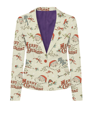 Giacca Babbo Natale Elegante donna - Opposuits