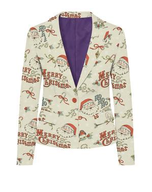 Elegante Weihnachtsmann Jacke für Damen - Opposuits