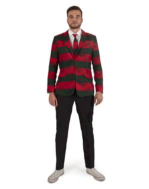 Freddy Krueger Opposuits jakkesæt til mænd