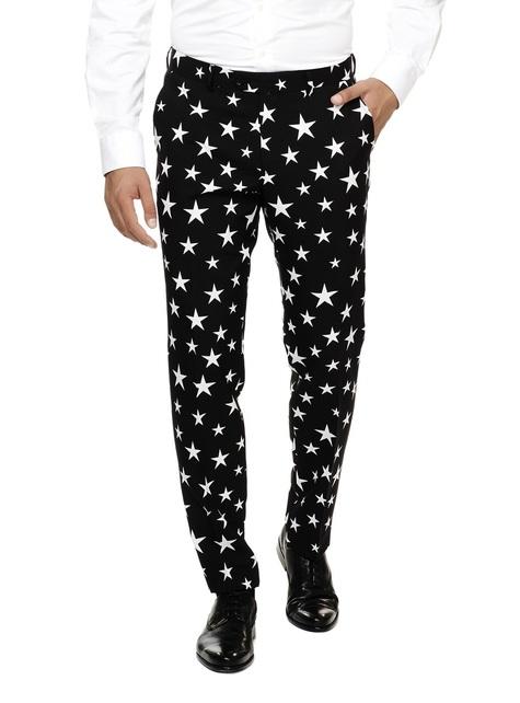 Traje Negro con Estrellas