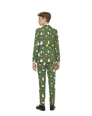 Зелений Різдвяний костюм «Santababe» для підлітків - Opposuits