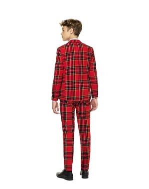 Costum adolescenți imprimeu scoțian