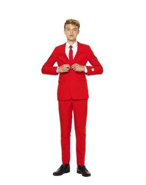 Rød djævel opposuit til unge