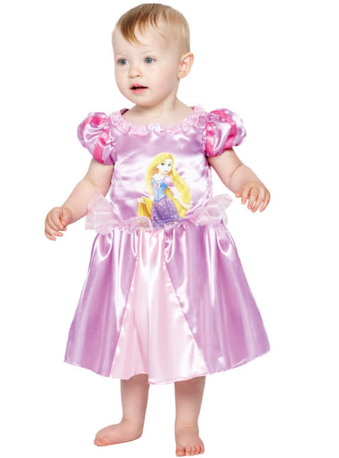Disfraz de Rapunzel deluxe para bebé