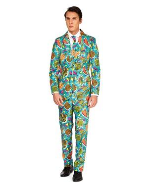 Opposuits Retro 90s Suit in Blue