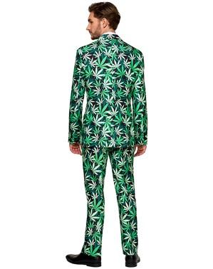 Abito con pattern Marijuana Cannabis - Opposuits