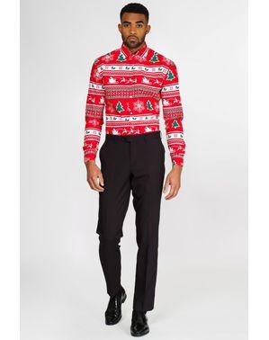 Червоне Різдво «Wonderland» Сорочка - Opposuits