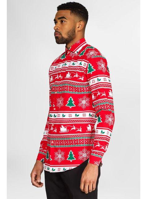 Chemise Noël Rouge