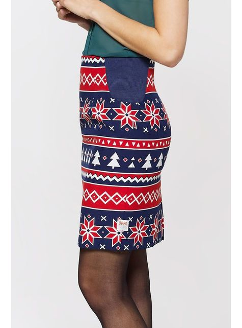 Costume Noël Bleu