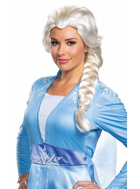 Peluca de Elsa para mujer - Frozen