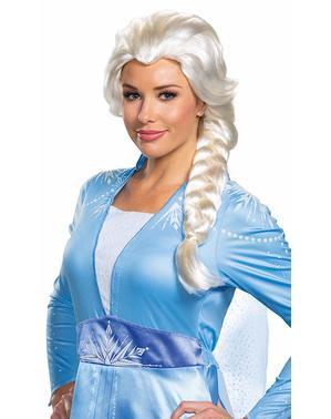 Peruca de Elsa para mulher - Frozen