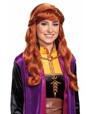 Parrucca Anna da donna - Frozen
