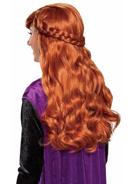 Peluca de Anna para mujer - Frozen