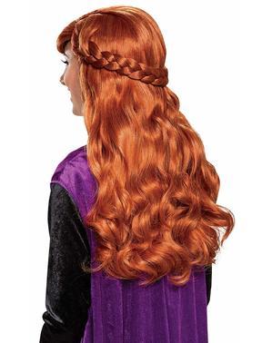 Anna pruik voor vrouw - Frozen