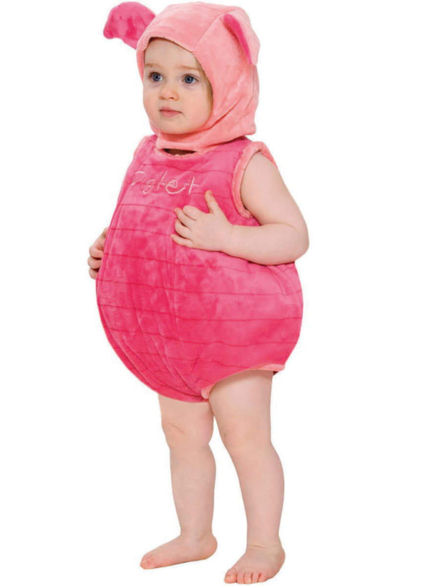 Babyu0027s Piglet Winnie the Pooh Costume with Volume. Detalle Zoom  sc 1 st  Funidelia & Babyu0027s Piglet Winnie the Pooh Costume with Volume. Fast delivery ...
