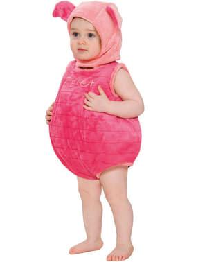 Déguisement Porcinet Winnie L'Ourson avec volume bébé