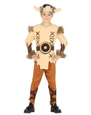 Mutiger Wikinger Kostüm für Jungen