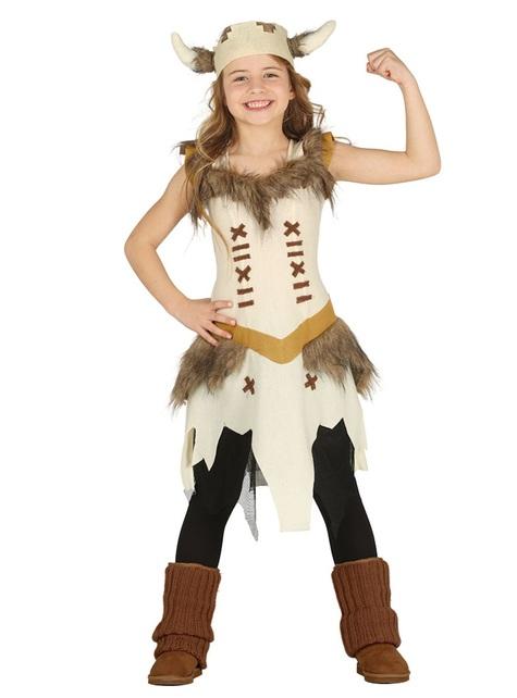 Brave viking costume for girls