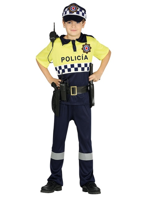 Spanish Traffic Police Costume for Kids