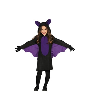 Cave bat costume for girls