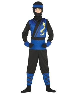 Maskeraddräkt dödlig ninja för barn