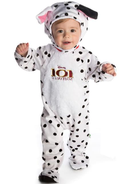 Disfraz de dálmata 101 dálmatas para bebé