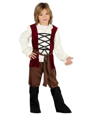 Costume da locandiere del medioevo per bambino