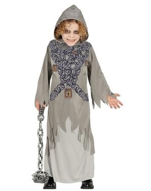 Detský pripútaný kostým smrti