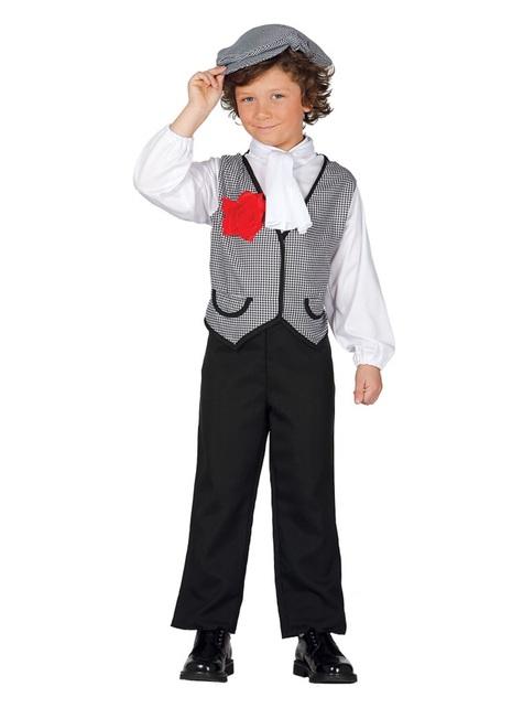 Kostüm angeberischer Madrilene für Jungen
