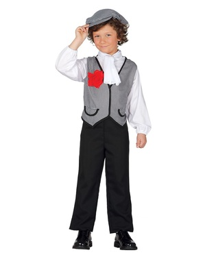 Costume da chulapo madrileno per bambino