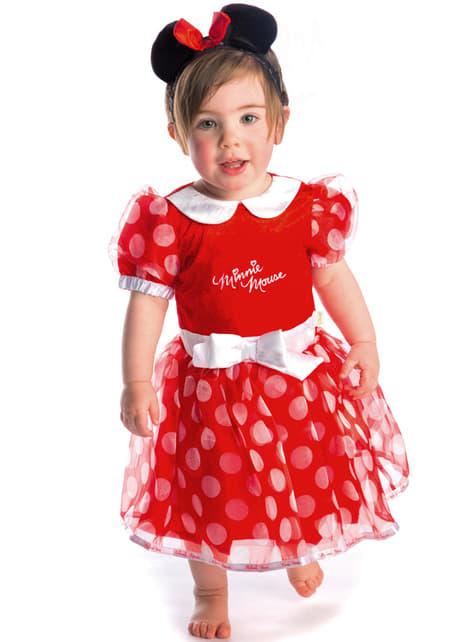 Fato de Minnie Mouse coquete para bebé