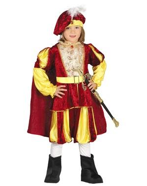 Eleganter Prinz aus dem Barrock Kostüm für Jungen