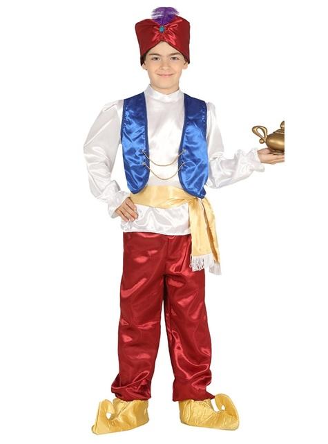 Disfraz de príncipe oriental para niño