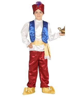 Ørken Prins kostume til drenge