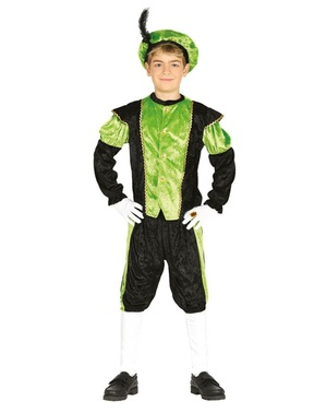 Kostým Santův malý pomocník zelený